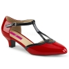 FAB-428 Red/Black Patent